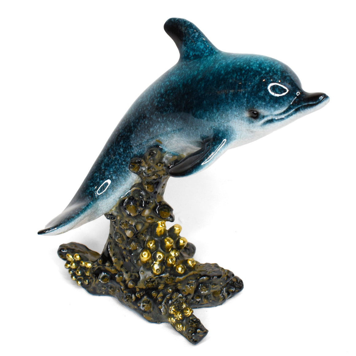 Resin Dolphin Figurine 6""