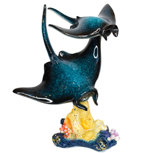 Resin Stingray Figurine 8""