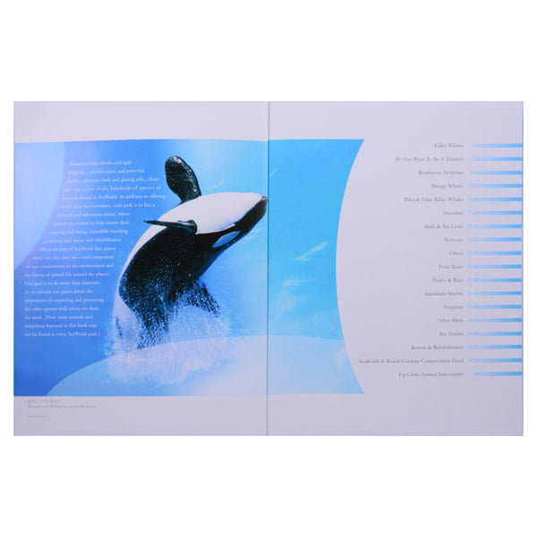 SeaWorld Souvenir Book