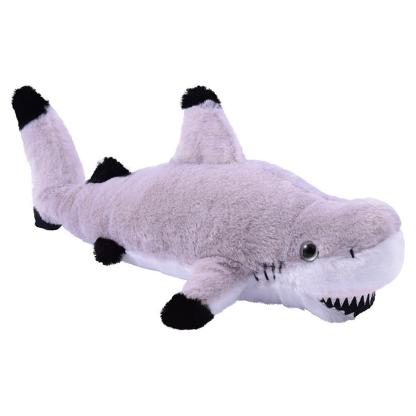 Black Tip Shark Plush 14""