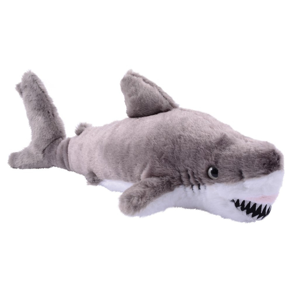 Great White Shark Plush 14""