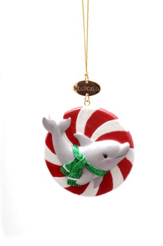 Dolphin Candy Resin Ornament