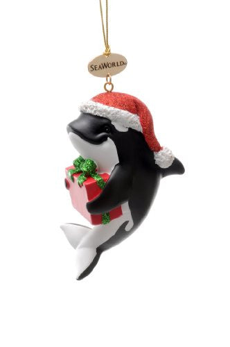 Whale Resin Ornament