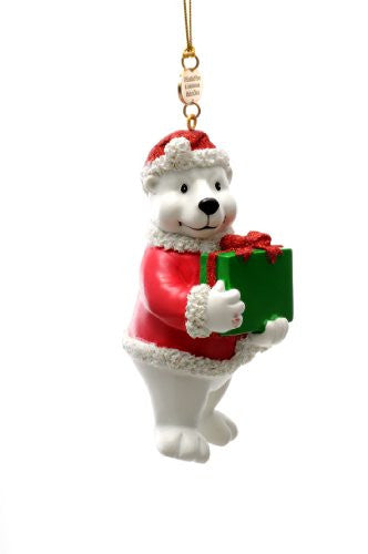 Polar Bear Resin Ornament