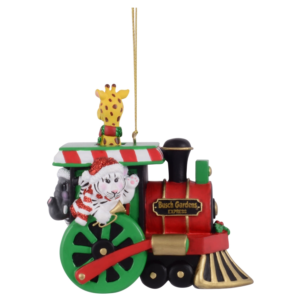 Busch Gardens Tampa Train Ornament
