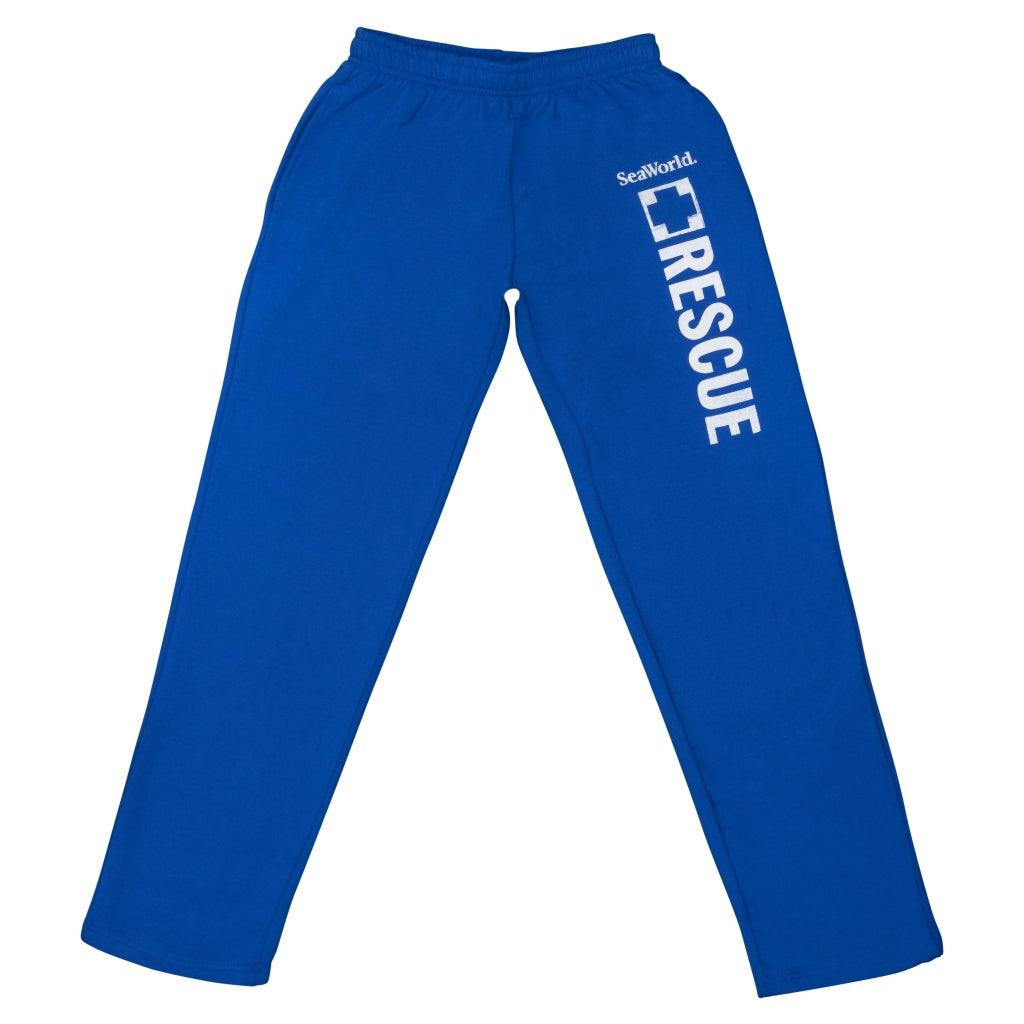 SeaWorld Rescue Royal Blue Adult Sweat Pants