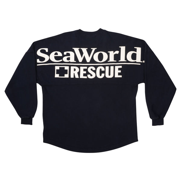 SeaWorld Rescue Spirit® Navy Long Sleeve Jersey