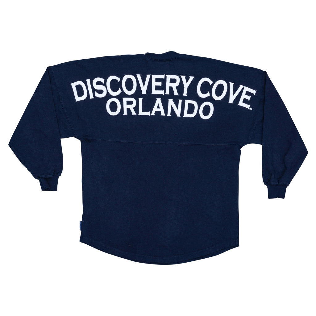 Discovery Cove Spirit® Navy Long Sleeve Jersey