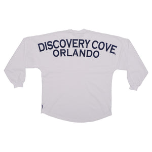 Discovery Cove Spirit® White Long Sleeve Jersey