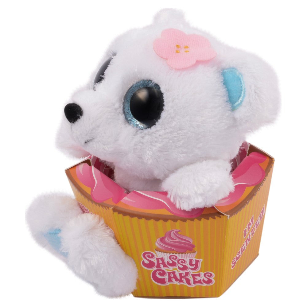 Sassy Cakes Claire The Polar Bear Scented Plush