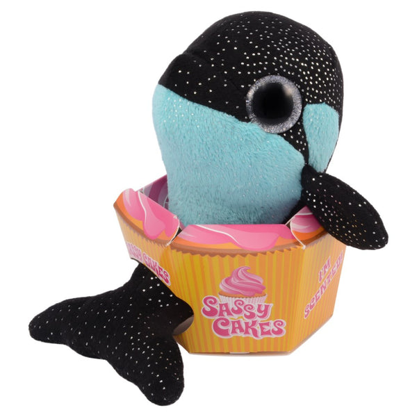 Sassy Cakes ShamuThe Killer Whale Scented Plush