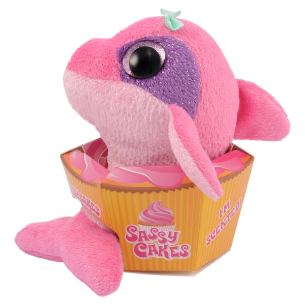 Sassy Cakes Daisy the Dolphin Scented Plush