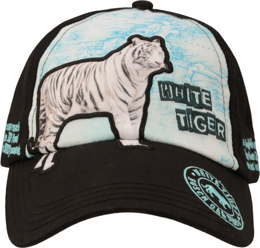 Education White Tiger Youth Cap
