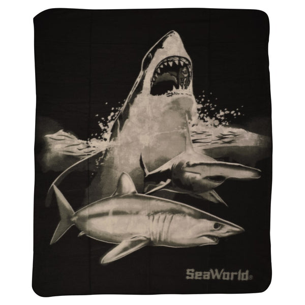 Shark Light Weight Fleece Throw
