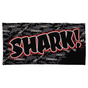 Shark Bite Towel