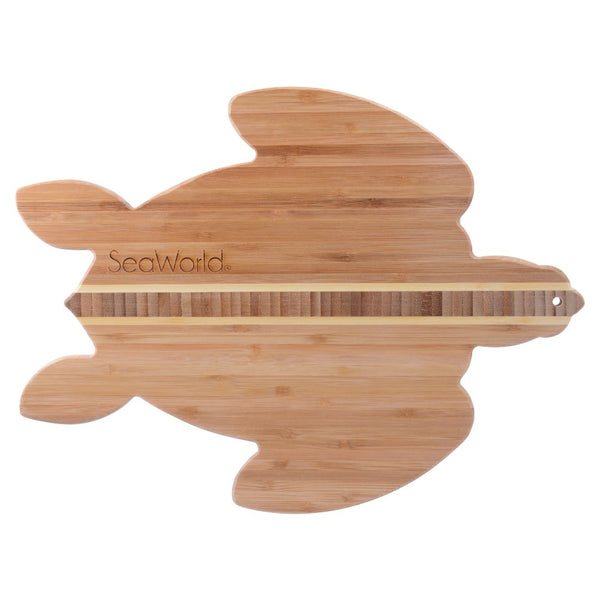 Sea Turtle Bamboo Cutting and Serving Board