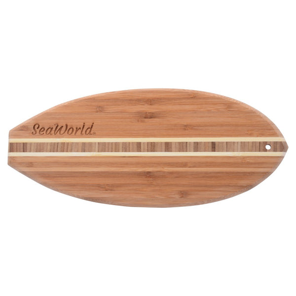 Lil Surfer Bamboo Cutting and Serving Board