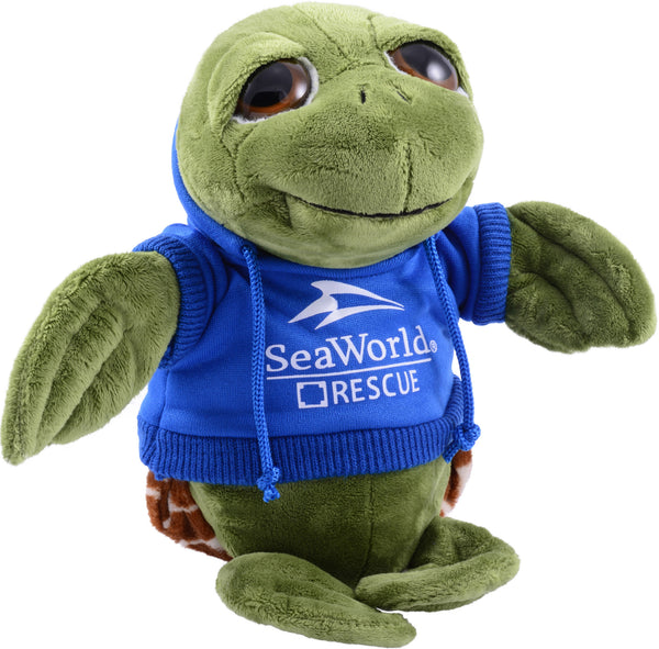 Sea Rescue Turtle with Hoodie Plush 8""