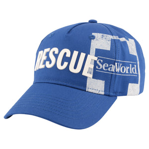 SeaWorld Rescue Adult Blue Baseball Cap