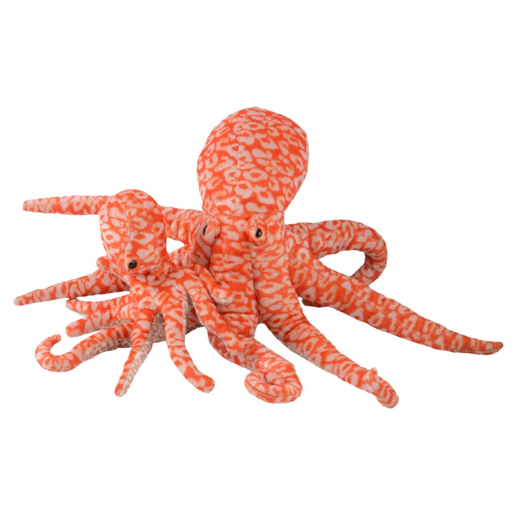 Mom and Baby Octopus Plush