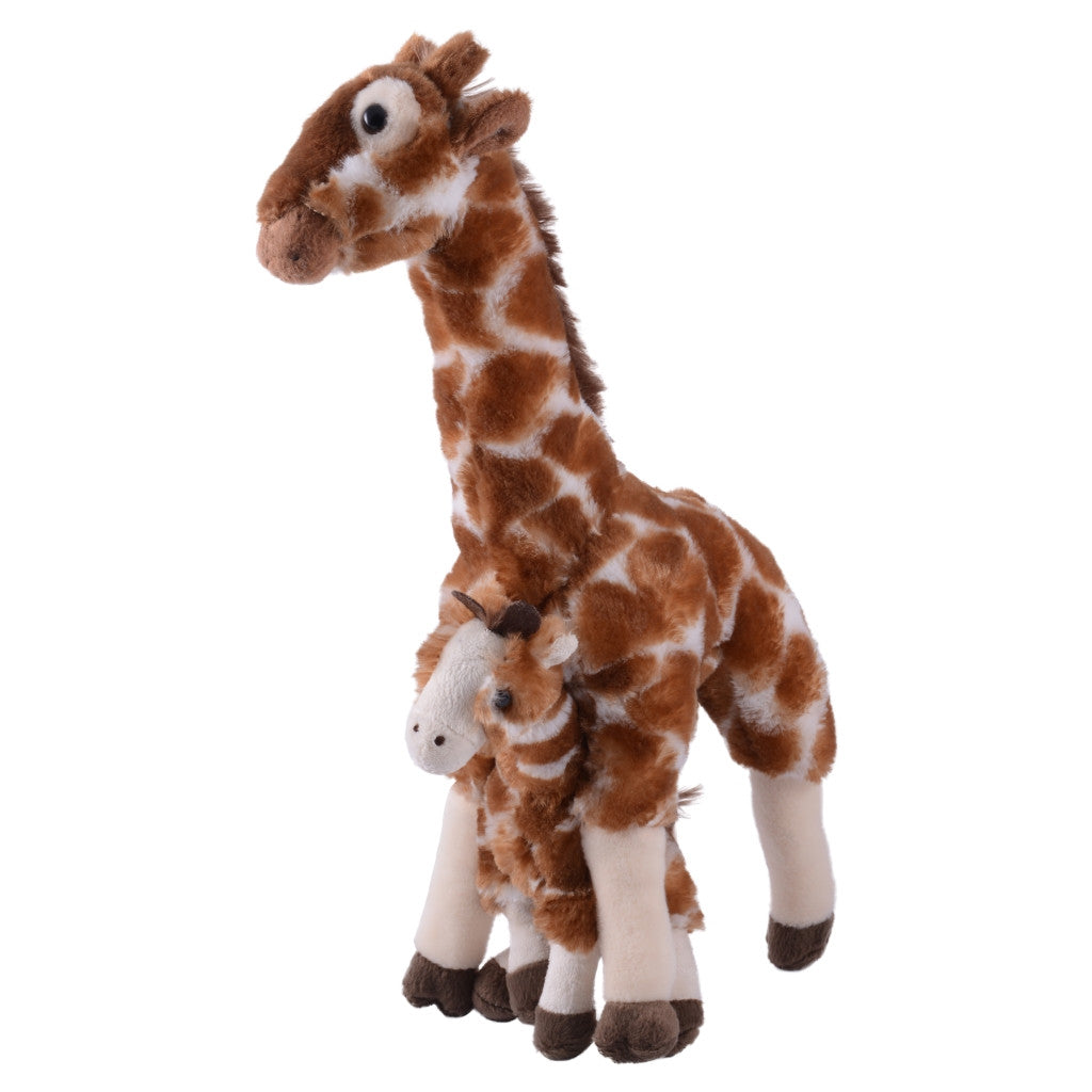 Mom And Baby Giraffe Plush Seaworld Shop