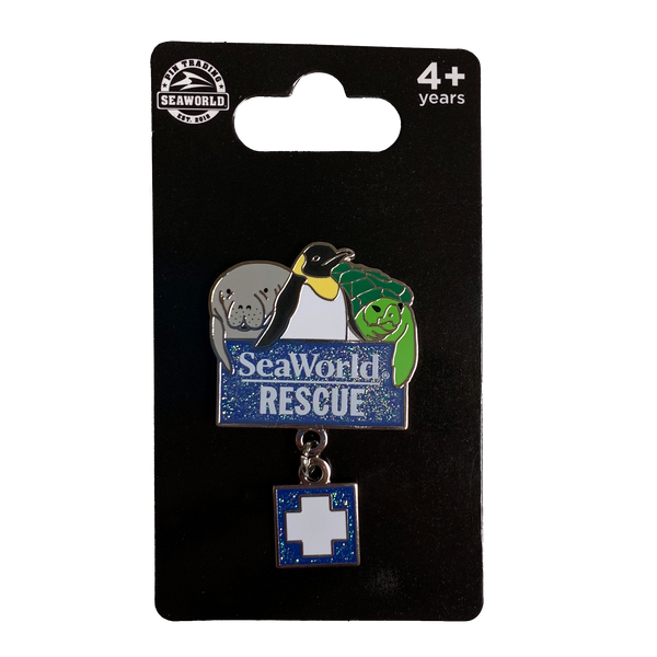 SeaWorld Rescue Dangle Pin
