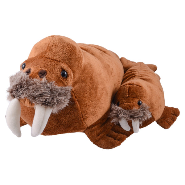 Mom and Baby Walrus Plush