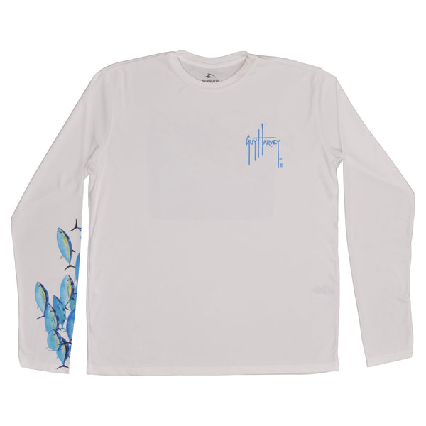 SeaWorld and Guy Harevy Mako Tuna Adult Perfomance Long Sleeve Tee