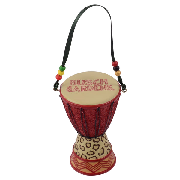 Busch Gardens African Drum Ornament