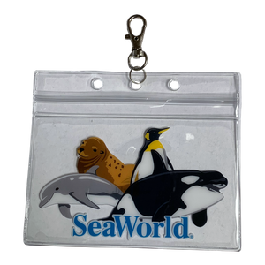 SeaWorld Collage Pouch
