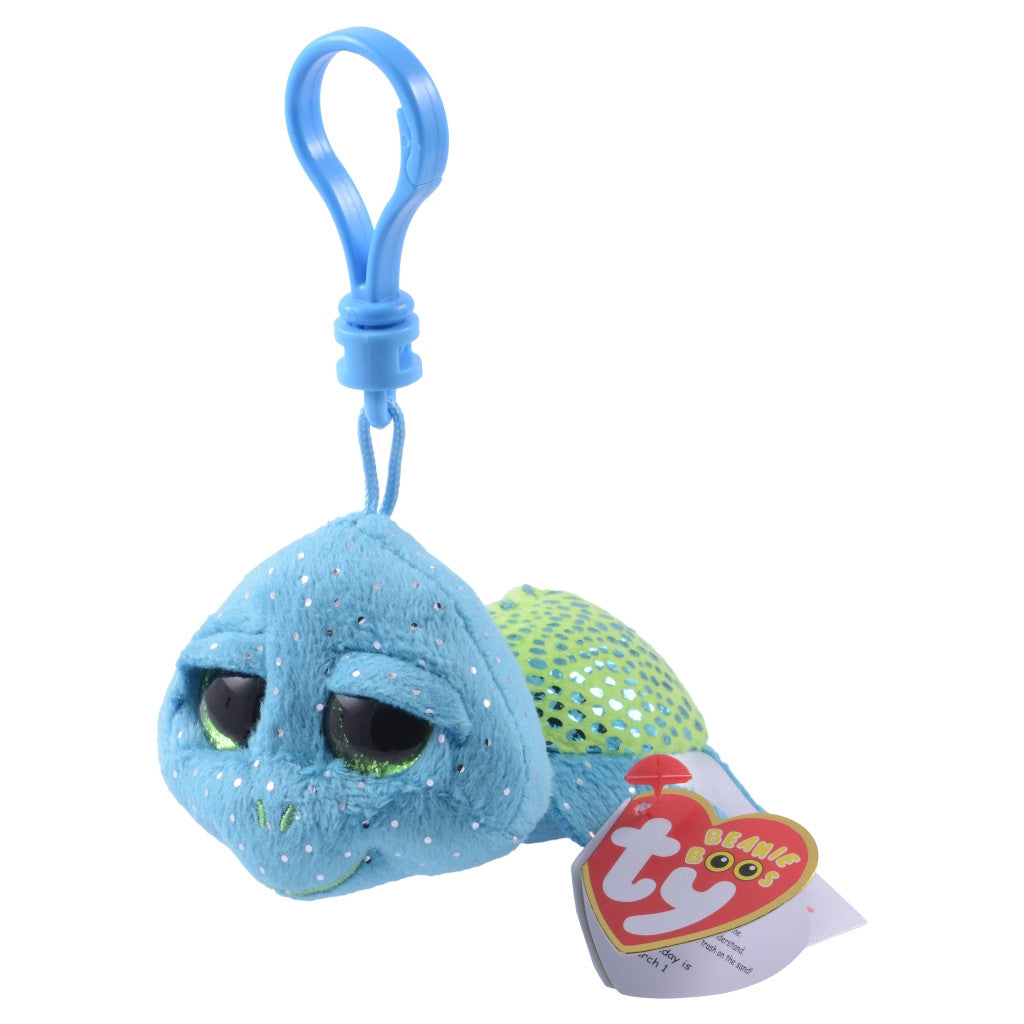Ty Beanie Boos SeaWorld Exclusive Turtle Clip Plush