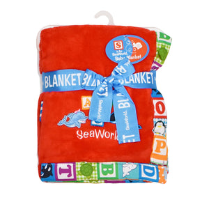 SeaWorld Swim Team Baby Blanket