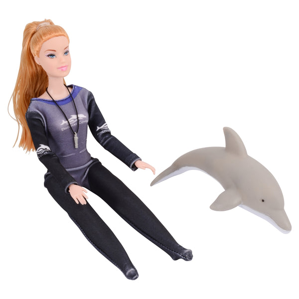 Discovery Cove Dolphin Trainer Doll