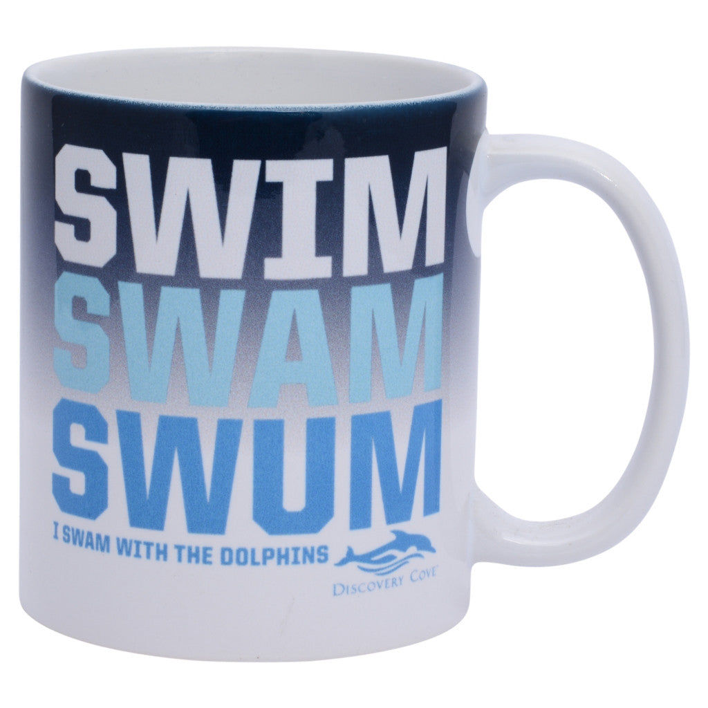 Discovery Cove Swim Swam Swum Coffee Mug