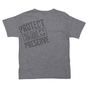 SeaWorld Rescue Grey Youth Tee