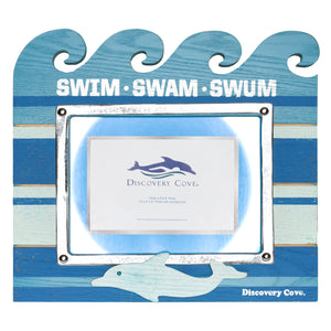 Discovery Swim Swam Swum 6 x 8 Photo Frame
