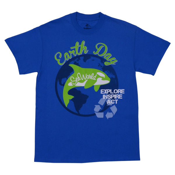 Earth Day SeaWorld Exclusive Adult Tee