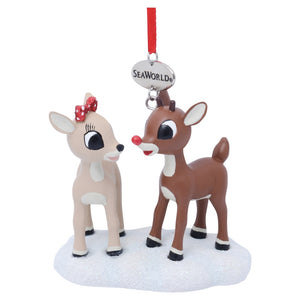 SeaWorld Rudolph & Clarice Ornament