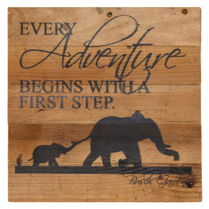 "Busch Gardens Elephants Wall Art - 10"" x 10"""