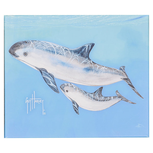 SeaWorld and Guy Harvey Exclusive Vaquita Canvas