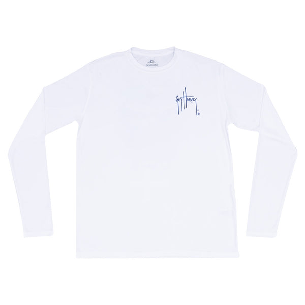 SeaWorld and Guy Harvey Exclusive Long Sleeve Performance Tee