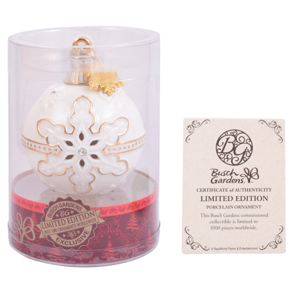 Busch Gardens Limited Edition Porcelain Ornament