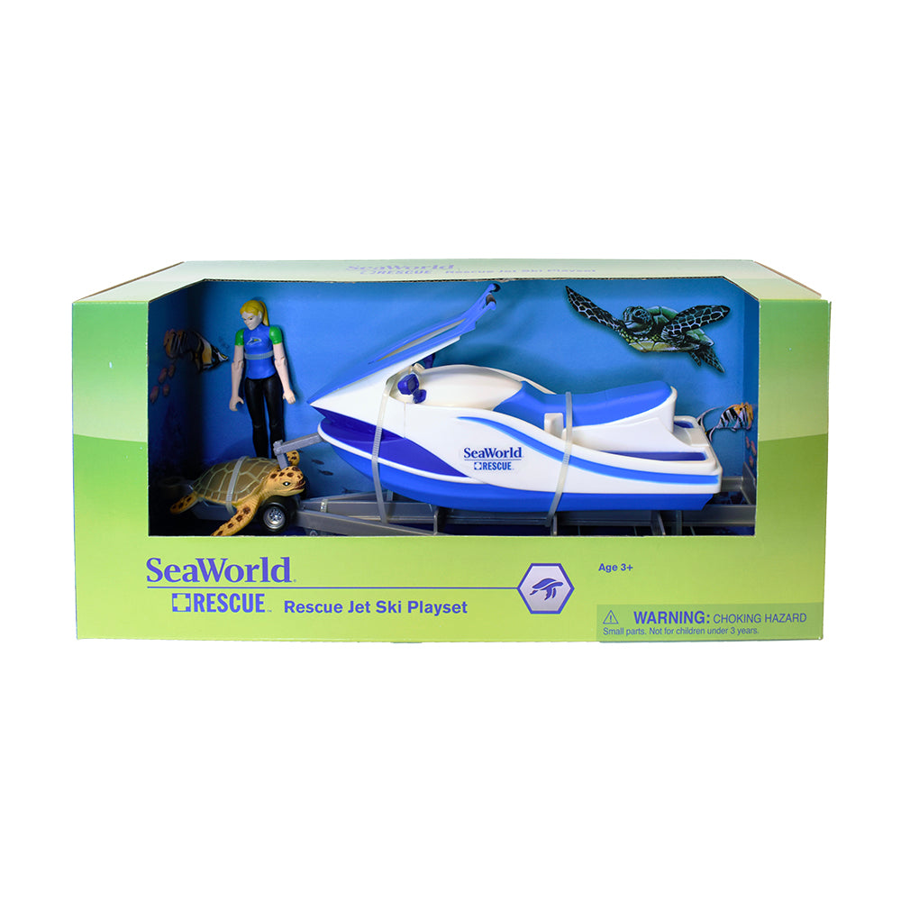 SeaWorld Rescue Jetski Trailer Playset