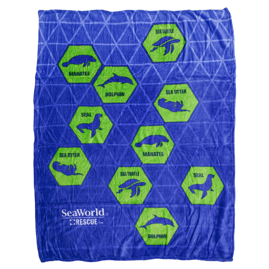 SeaWorld Rescue Light Weight Blanket