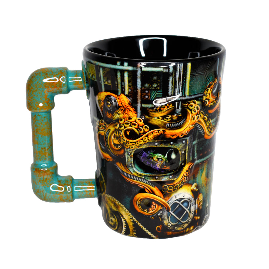 SeaWorld Steampunk Mug