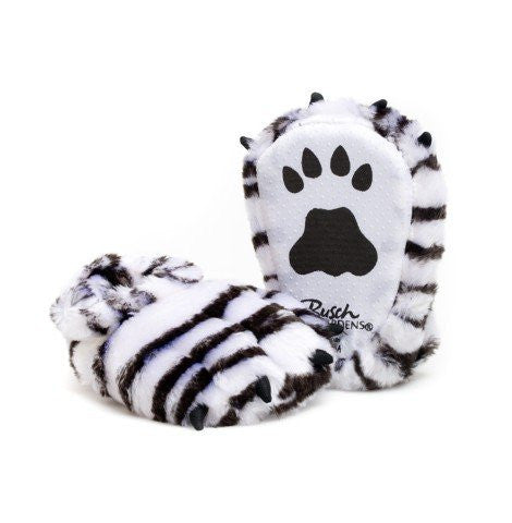White Tiger Youth Slippers