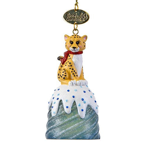 Cheetah Gum Drop Resin Ornament