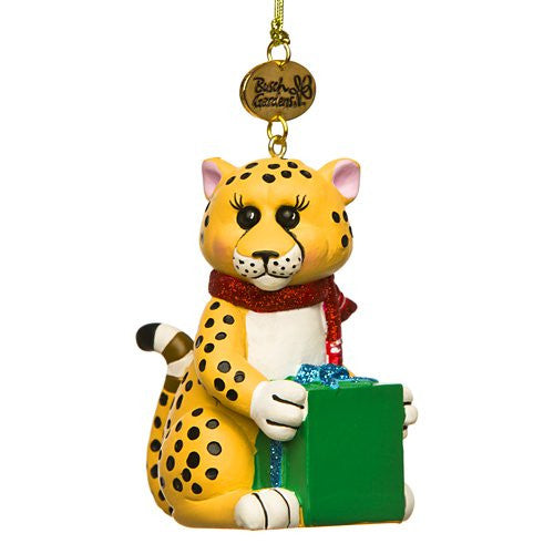 Cheetah Resin Ornament
