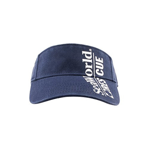 SeaWorld Rescue Navy Adult Visor