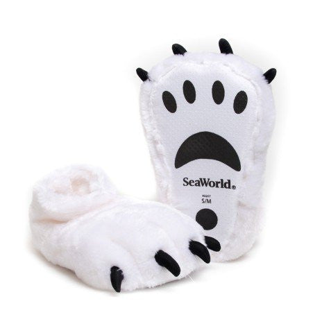 Polar Bear Youth Slippers